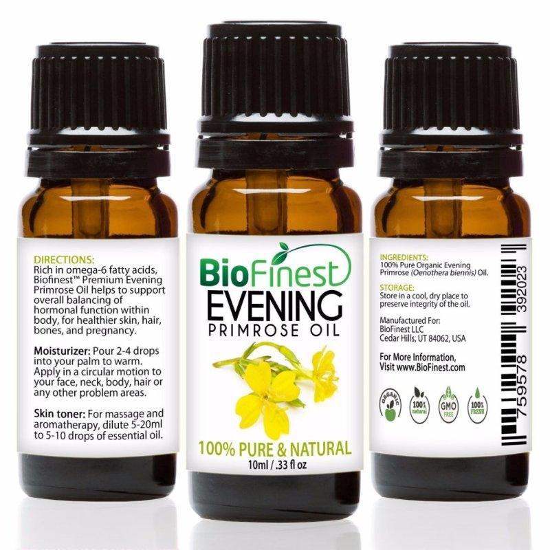 Buy Biofinest Evening Primrose Organic Oil (100% Pure Organic Carrier Oil) 10ml Singapore