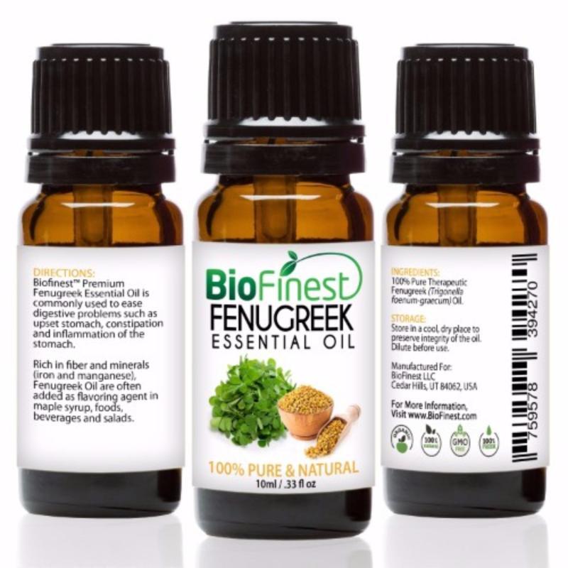 Buy Biofinest Fenugreek Essential Oil (100% Pure Therapeutic Grade) 10ml Singapore