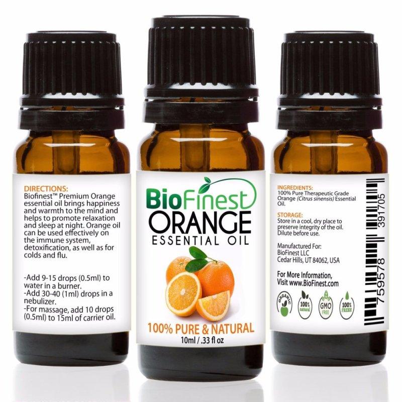 Buy Biofinest Orange Essential Oil (100% Pure Therapeutic Grade) 10ml Singapore