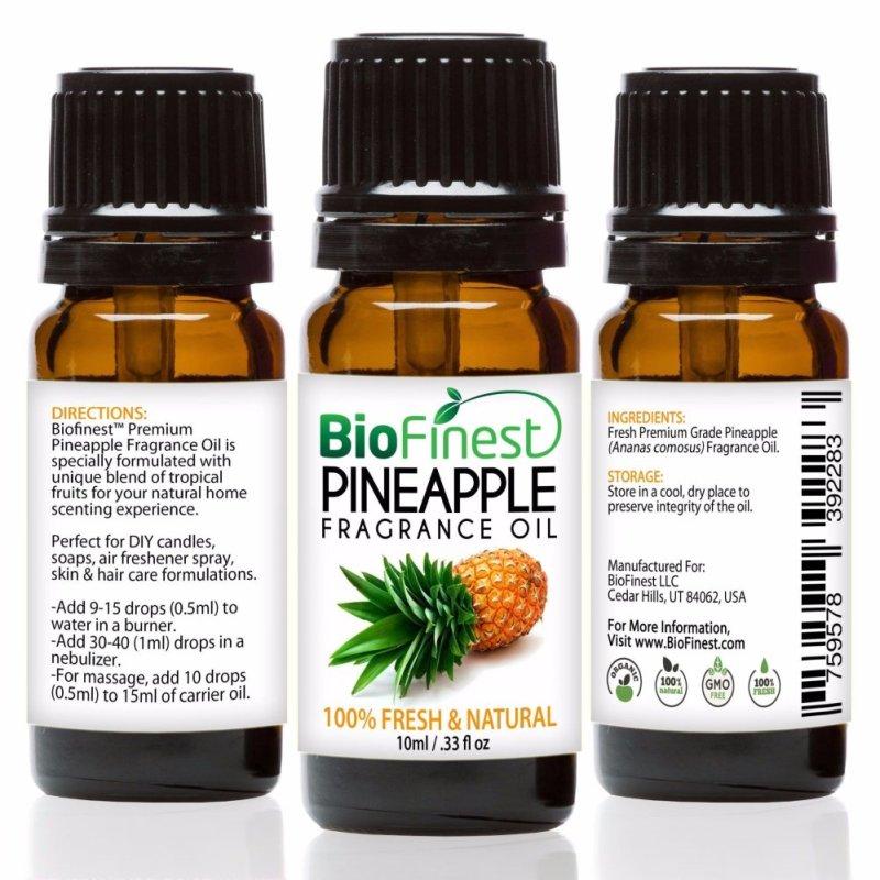 Buy Biofinest Pineapple Fragrance Oil (100% Fresh and Natural Aroma Oil) 10ml Singapore