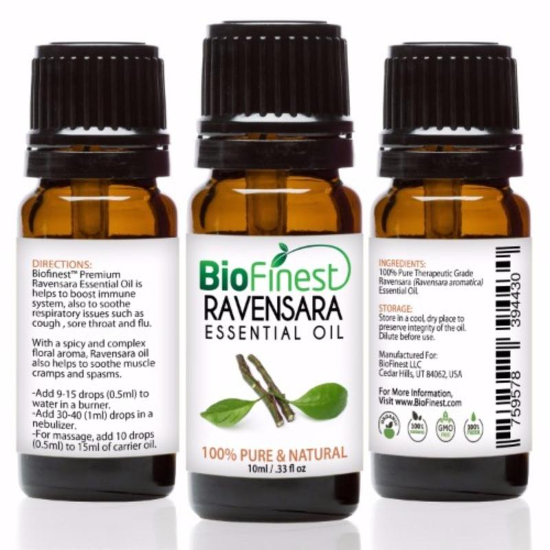 Buy Biofinest Ravensara Essential Oil (100% Pure Therapeutic Grade) 10ml Singapore