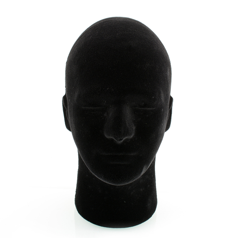 Buy Black Styrofoam Foam Mannequin Manikin Head Model Glasses Hat Display 54cm - intl Singapore