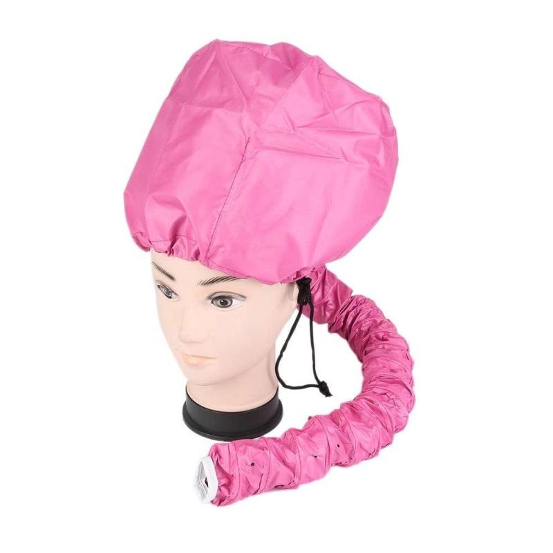 Buy Blow Dryer Attachment Portable Rose Red Hair Drying Cap Bonnet Hood Hat Dryer - intl Singapore