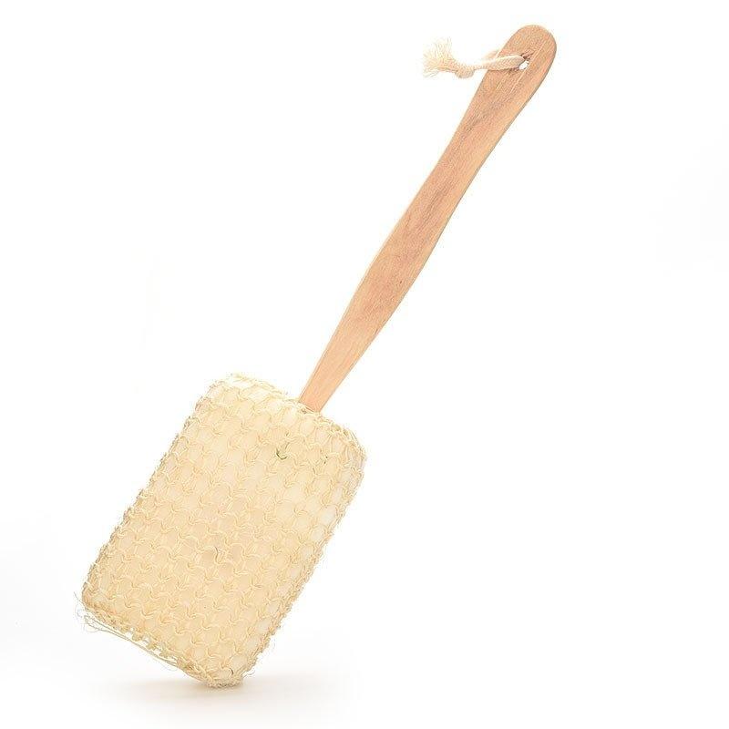 Buy Body Back Brush Natural Sisalf for Shower - intl Singapore