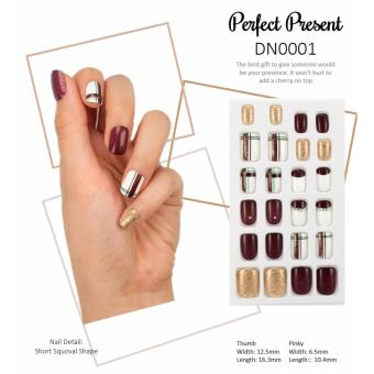 [BUY 1 FREE 1] - Pre-Glued Beauty Press Nails - Perfect Present