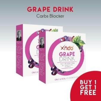 (Buy 1 Get 1 Free)XNDO Grape Drink Mini