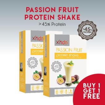 (Buy 1 Get 1 Free)XNDO Passion Fruit Protein Shake