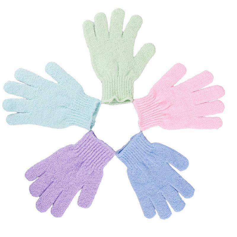 Buy BUYINCOINS Bath Shower Exfoliating Soap Foam Gloves Singapore