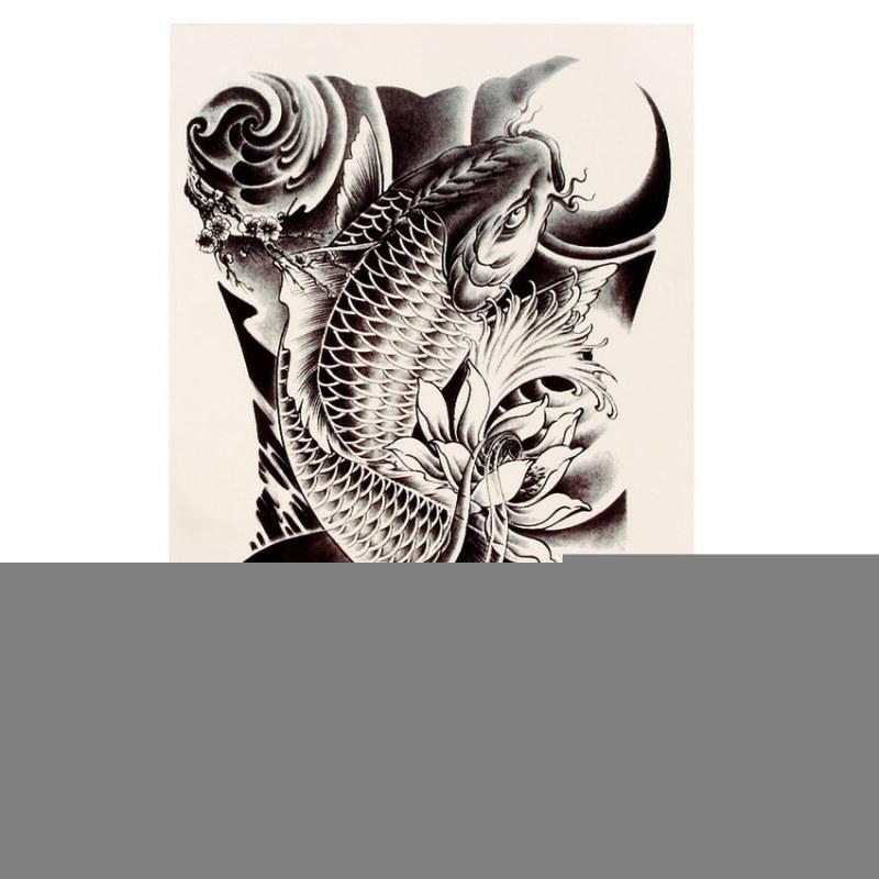 Buy Carp Graphic Temporary Tattoo Body Arm Leg Art Stickers Singapore