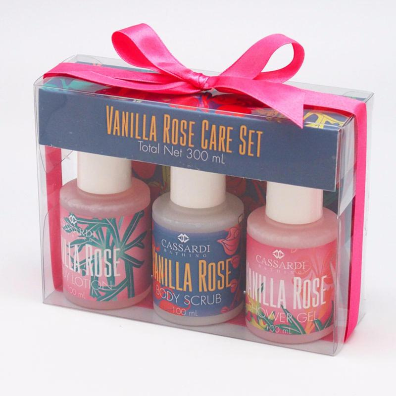 Buy Cassardi Vanilla & Rose Bath Set Trio Singapore