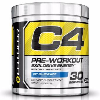 Cellucor C4 Pre-workout Explosive Energy - Icy Blue Razz 30Servings