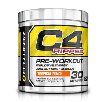 Cellucor C4 Ripped - Tropical Punch 30 Servings