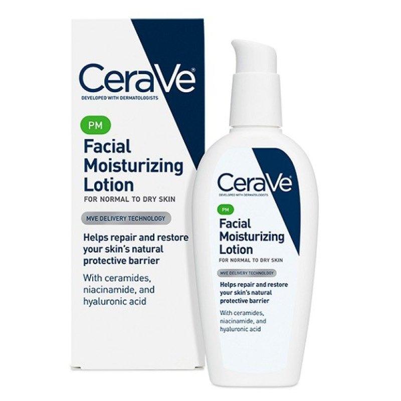 Buy CeraVe PM Facial Moisturizing Lotion 89ml Singapore