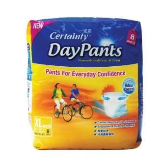 Certainty Day Pants Regular Pack XL x 8 Packs