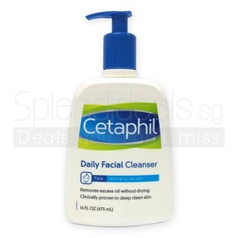 Harga Cetaphil Daily Facial Cleanser for Normal to Oily Skin 473ml x 2 Bottles - 7167