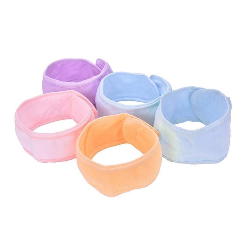Buy Cyber Low Profit Soft Towel Hair Band Wrap Headband For Bath Spa Yoga Sport Make Up( Yellow ) - intl Singapore