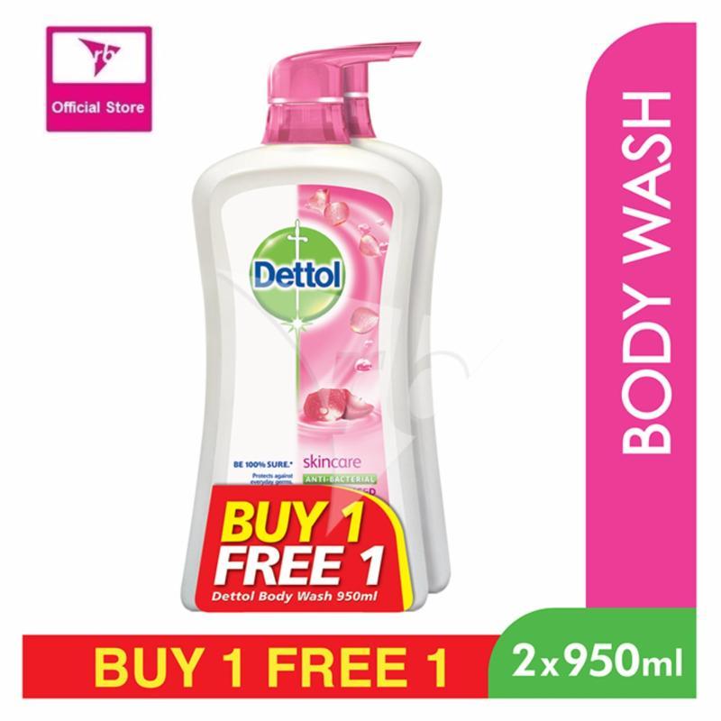Buy Dettol Anti-Bacterial Shower Gel Skincare 950ML BOGOF Singapore