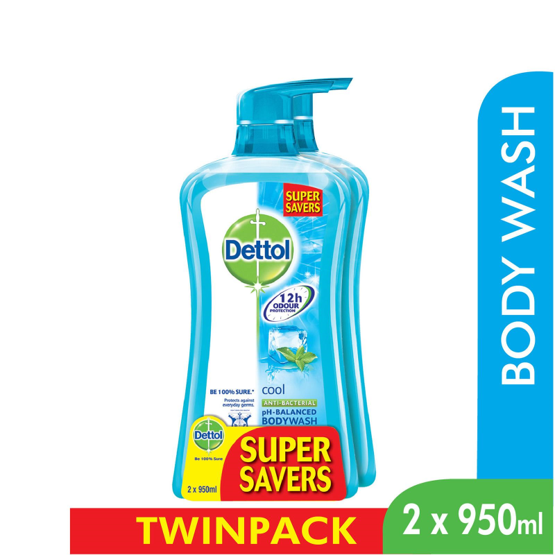 Buy Dettol Body Wash Fresh P&P 950Ml x 2 Singapore
