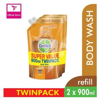 Harga Dettol Body Wash Pouch Classic Clean 900Ml Twin Pack