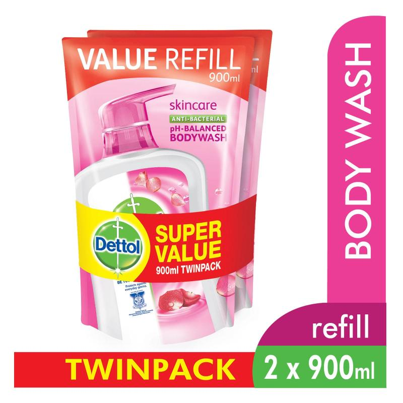 Buy Dettol Body Wash Pouch Fresh 900Ml Twin Pack Singapore