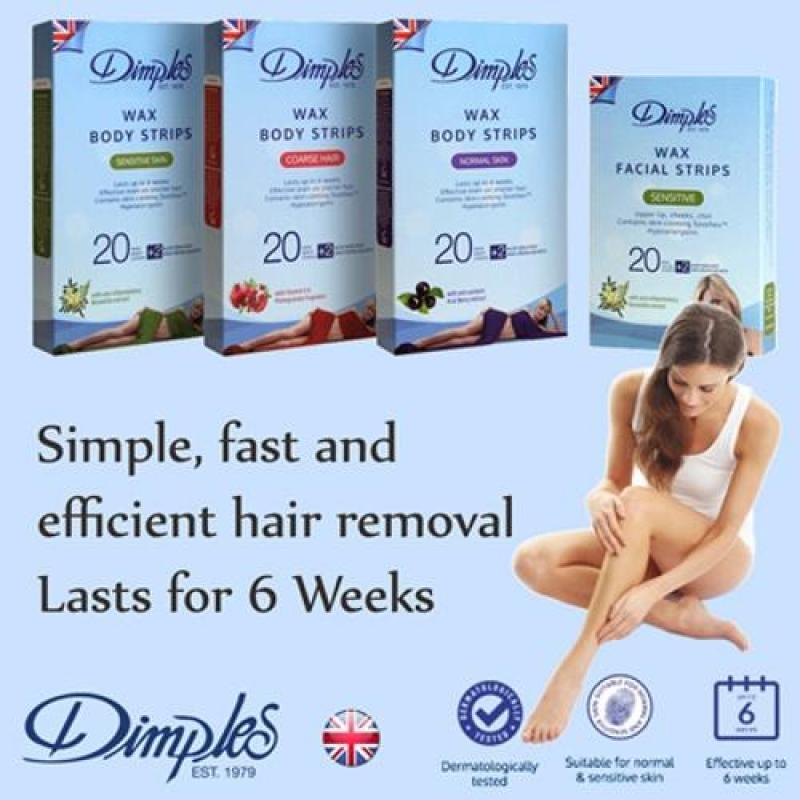 Buy Dimples Body Wax Strips (Coarse Hair) Singapore
