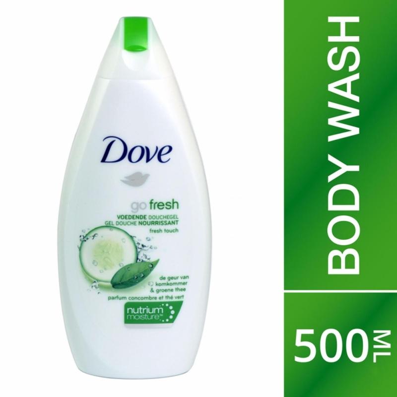 Buy DOVE Shower foam Fresh Touch 500ml Singapore