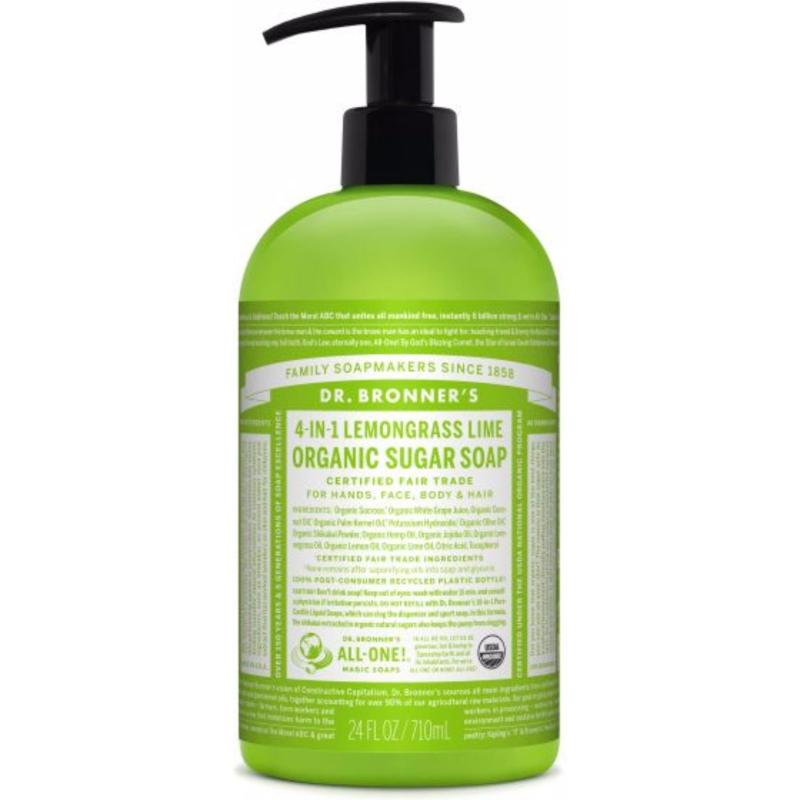 Buy Dr Bronner's Organic Sugar Soap 24oz Lemongrass Singapore