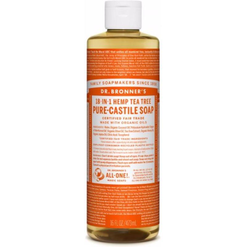 Buy Dr Bronners Organic Magic Castile Soap 8oz Tea Tree Singapore
