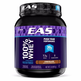 EAS 100% Whey Protein Chocolate 2 lbs With Free Gift