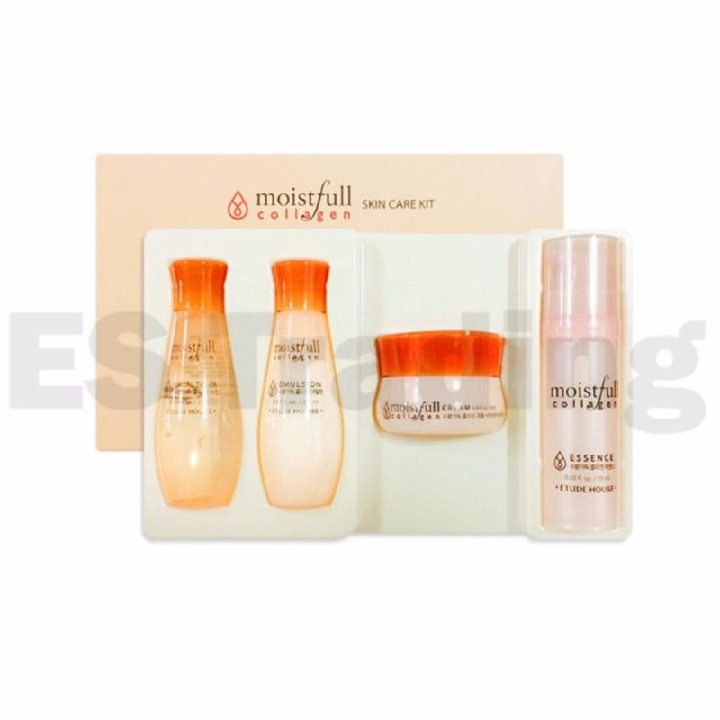 Buy ETUDE HOUSE Moistfull Collagen Skin Care Kit - 4 Kinds Sample - intl Singapore