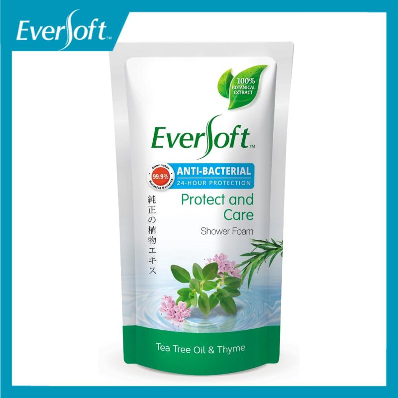 Buy Eversoft Protect & Care Anti-Bacterial Shower Foam 600ml Singapore