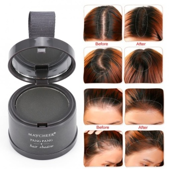 Forehead Curve Beautifying Hair Repair Powder Hairline Shadow Powder (4#) - intl