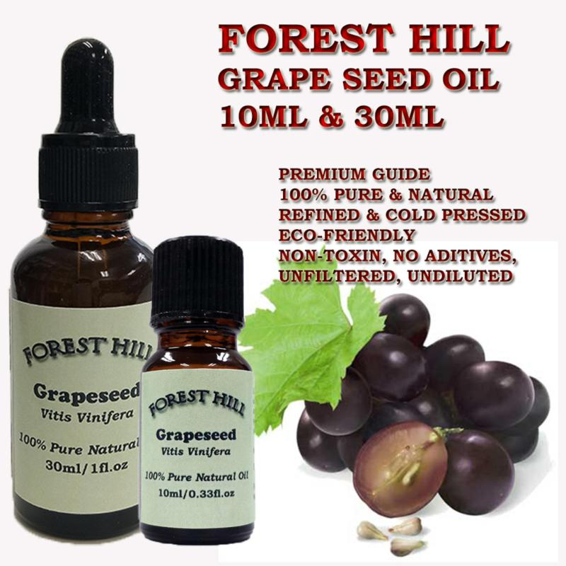 Buy Forest Hill 100% Pure Natural Carrier Oil, Grape Seed 10ml Singapore