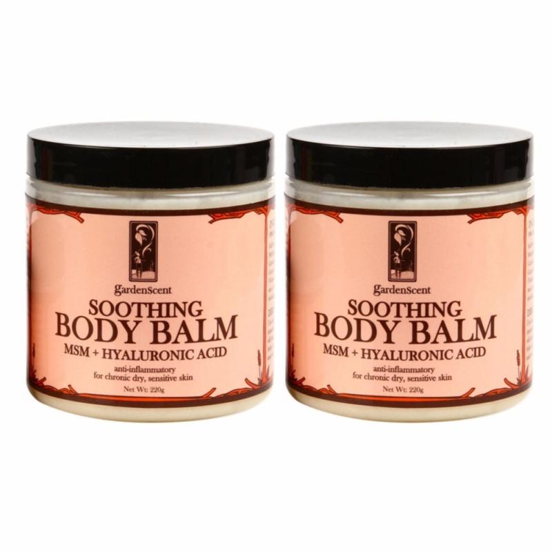 Buy Gardenscent Soothing Body Balm Bundle (99% natural, 52% organic) - 220gm Singapore