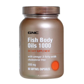 Harga GNC Fish Body Oils 1000 90's