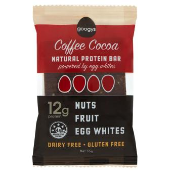 Harga Googys Natural Protein Bar (55g) Coffee Cocoa