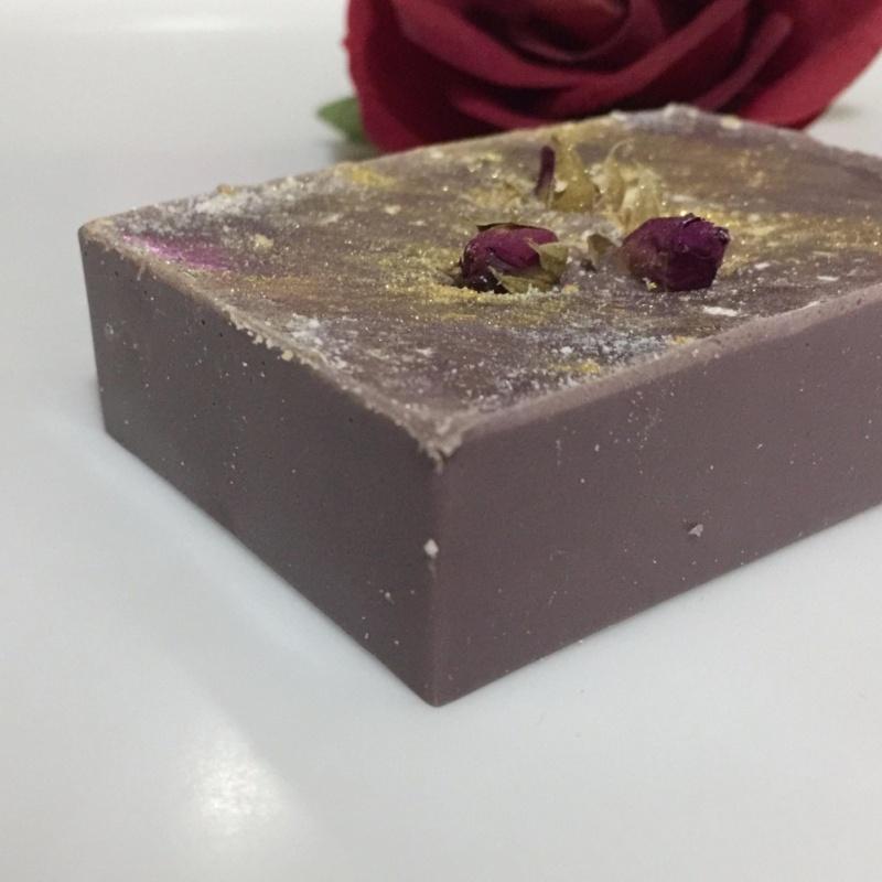 Buy Handmade Rose / Bamboo Charcoal Soap Singapore