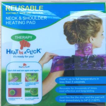 Heat In A Click Neck & Shoulder Hot/Cold Gel Pad For Stiff Necks And Shoulder Pain