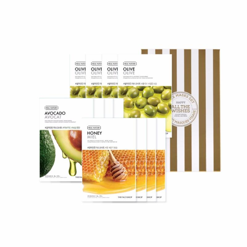 Buy Holiday Edition Real Nature Mask 12pcs Set B Singapore