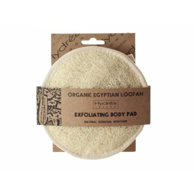 Buy Hydrea London Organic Egyptian Loofah Body Pad backed in soft Egyptian Cotton - 15cm Singapore