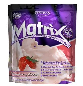 Harga SYNTRAX Matrix 5.0 Strawberry Cream 2.27kg