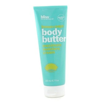 Harga Bliss Lemon + Sage Body Butter 200ml/6.7oz