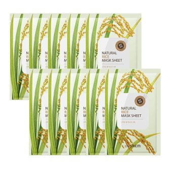 Harga The Saem Natural Rice Mask Sheet (10ea) - intl