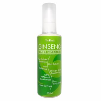 Harga EcoHerbs Ginseng Extra Strength SERUM: For Hair Growth, Hair Regrowth, Grow Hair, Thick Hair, Thicker Hair, Hair Loss, Hair Thinning, Thin Hair Treatment For Beginning, Serious & Critical Hair Loss Or Near Bald (100% Herbal-Based, All-Natural)