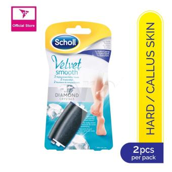 Harga Scholl Velvet Smooth Replacement Roller Heads (Extra Coarse + Soft Touch)