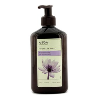 Harga Ahava Mineral Botanic Velevt Body Lotion - Lotus and Chestnut 400ml/13.5oz