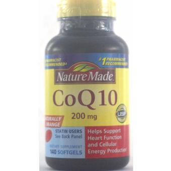 Harga NATURE MADE COQ10 200MG 140 SOFTGELS