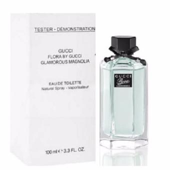 GUCCI FLORA BY GUCCI GLAMOROUS MAGNOLIA EDT 100ML-TESTER WITH CAP