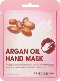 Harga Color Combos Argan Oil Hand Mask 16g