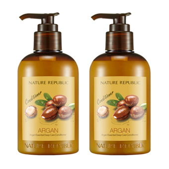 Harga Nature Republic Argan Essential Deep Care Conditioner 300ml *2
